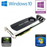 nVidia Quadro 5000 2.5GB GDDR5 PCI-E Dual DisplayPort DVI Graphics Card 0YMYKM