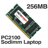256MB PC2100 266MHz 200Pin DDR Sodimm Laptop Memory RAM