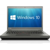 "Lenovo ThinkPad T440p 14"" Core i7-4600M 8GB 256GB SSD DVDRW WebCam USB 3.0 WiFi Bluetooth Windows 10 Professional 64-bit Laptop PC Computer"