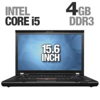 "Lenovo ThinkPad T510 15.6""  i5-520M 2.40GHz 4GB 160GB DVDRW Windows 10 Professional 64bit"