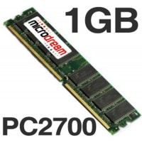 1024MB 1GB PC2700 333MHz DDR 184Pin NON-ECC Desktop PC Memory RAM