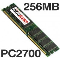 256MB PC2700 333MHz DDR 184Pin NON-ECC Desktop PC Memory RAM