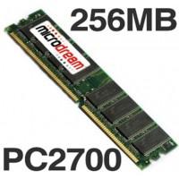256MB PC2700 333MHz DDR 184Pin NON-ECC Desktop PC Memory RAM