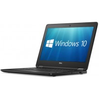 "Dell Latitude E7270 12.5"" Core i5-6300U 8GB 256GB SSD WebCam HDMI WiFi BT Windows 10 Professional Laptop PC"