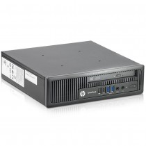 HP EliteDesk 800 G1 Ultra Slim Desktop PC - Intel Quad Core i5-4570s 2.9GHz 8GB 256GB SSD USB 3.0 DVD WiFi Windows 10 Professional