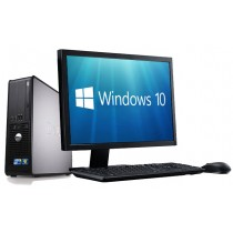 Complete set of Dell 780 Dual Core 4GB 1000GB Windows 10 64-Bit Desktop PC Computer