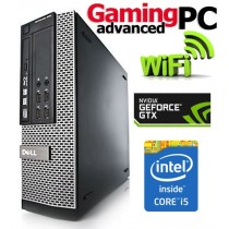 Gaming PC Dell Quad Core i5-2400 16GB 1TB GTX 1050 Ti WiFi Windows 10 64-Bit Desktop PC Computer