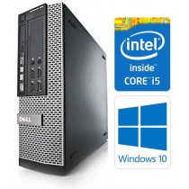 Dell OptiPlex 7010 SFF 3rd Gen Quad Core i5-3470 8GB 256GB SSD DVDRW Windows 10 Professional 64-Bit Desktop PC Computer