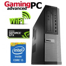 Gaming PC Dell OptiPlex Quad Core i5-2400 16GB 480GB SSD GTX 1050 Ti WiFi Windows 10 64-Bit Desktop PC Computer