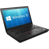 "Lenovo ThinkPad X260 12.5"" Ultrabook - Core i7-6500U 8GB RAM 256GB SSD HDMI WiFi WebCam Windows 10 Professional 64-bit"