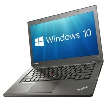 "Lenovo ThinkPad T440 Laptop PC - 14.1"" i5-4300U 8GB 240GB SSD WiFi WebCam USB 3.0 Windows 10 Professional 64-bit"