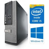 Dell OptiPlex 3010 SFF Quad Core i5-3470 8GB 250GB DVDRW HDMI WiFi Windows 10 Professional 64-Bit Desktop PC Computer