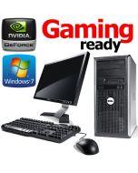 Complete Set of Gaming Ready Dell OptiPlex 755 4GB HDMI Windows 7 PC Computer