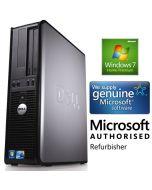 Dell OptiPlex 745 Core 2 Duo E6300(1.86GHz) 1GB 160GB DVD XP Professional Desktop PC