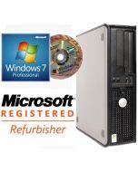 Refurbished Dell OptiPlex 755 Core 2 Duo E4500 (2.20GHz) 2GB Windows 7 Desktop PC Computer