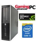 Gaming PC HP 8300 Elite Quad Core i5-3470, 8GB RAM, 1TB HDD, GeForce GTX 1050 2GB, WiFi, Windows 10 64Bit Desktop PC Computer