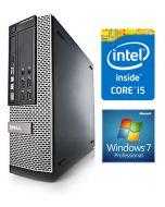 Dell OptiPlex 7010 SFF 3rd Gen Quad Core i5-3550 8GB 500GB DVDRW Windows 7 Professional Desktop PC Computer