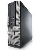 Dell OptiPlex 7010 SFF 3rd Gen Quad Core i7-3770 8GB 500GB DVD WiFi Windows 10 Professional Desktop PC Computer