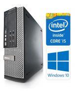 Dell OptiPlex 7010 SFF Quad Core i5-3570 8GB 120GB SSD DVDRW WiFi Windows 10 Professional 64-Bit Desktop PC Computer