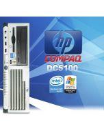 HP dc5100 Sff P4 HT 2.8GHz 1GB DVD Desktop PC Computer