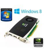 nVidia Quadro FX 1800 768MB PCI-Eexpress Dual DisplayPort DVI Graphics Card P418M
