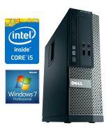 Dell OptiPlex 390 SFF Quad Core i5-2400 4GB 250GB DVD HDMI Windows 7 Professional Desktop PC Computer
