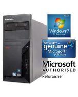 Lenovo Thinkcentre M58p Quad Core Q8400 4GB 500GB Windows 7 Professional Desktop PC Computer