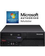 Lenovo ThinkCentre M58e Core 2 Duo 2.53-2.93GHz 4GB 160GB DVD Windows 7 Professional