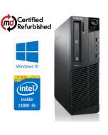 Lenovo ThinkCentre M91p SFF Quad Core i5-2400 8GB RAM 480GB SSD WiFi Windows 10 Professional 64Bit Desktop PC Computer