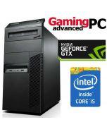 Gaming PC Lenovo M91p Tower Quad Core i5-2500 8GB GTX 1050 WiFi Windows 10 64Bit Desktop Computer