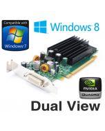 nVidia Quadro NVS 285 128MB PCI-E Dual Display Low profile Graphics Card