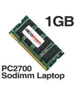 1GB 1024MB PC2700 333MHz 200Pin DDR Sodimm Laptop Memory RAM