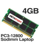 4GB (1x4GB) PC3-12800 1600MHz 204Pin DDR3 Sodimm Laptop Memory RAM