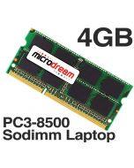 4GB (1x4GB) PC3-8500 1066MHz 204Pin DDR3 Sodimm Laptop Memory RAM