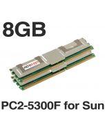 8GB (2x4GB) DDR2 1.5V PC2-5300F for Sun T6340 T5440 T5140 T5240 T5440