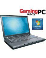 Gaming Laptop Lenovo ThinkPad T410 i5-520M 2.40GHz 4GB DVDRW nVidia Quadro NVS 3100M WiFi WebCam Windows 7 Professional