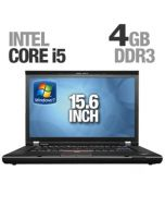 "Lenovo ThinkPad T520 15.6"" (1600x900) Core i5-2520M 2.40GHz 4GB 320GB DVDRW WiFi WebCam Windows 7"