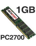1024MB 1GB PC2700 333MHz DDR 184Pin NON-ECC Desktop PC Memory RAM