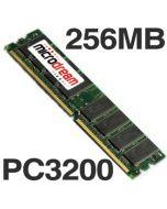 256MB PC3200 400MHz DDR 184Pin NON-ECC Desktop PC Memory RAM
