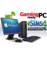 Complete Set of Gaming PC Lenovo ThinkCentre GeForce GT710 HDMI Windows 10 PC Computer