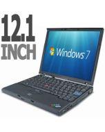 "Lenovo ThinkPad X60s 12.1"" Core Duo L2400 1.66GHz 1GB 60GB Windows 7 Laptop"