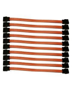 Dell HH942 Serial ATA 15CM Orange Sata Data Cable