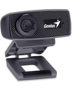 Genius FaceCam 1000X 720P HD Webcam with Microphone (USB, Built‐in sensitive microphone)