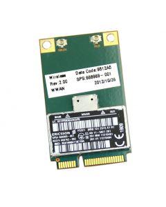 Ericsson F5321 3G WWAN Mobile Broadband Card 668969-001