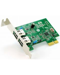 Lenovo BA7902 PCIe Low Profile IEEE1394 2 Port Firewire Adapter Card 89Y1712