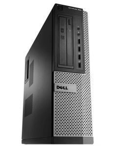 Dell OptiPlex 990 DT Intel Core i3-2100 8GB 500GB DVDRW Windows 10 Professional 64-Bit Desktop PC Computer