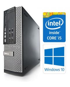 Dell OptiPlex 7010 SFF Quad Core i5-3570 8GB 120GB SSD DVDRW WiFi Windows 10 Professional 64-Bit Desktop PC Computer