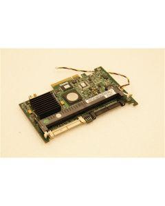 Dell PowerEdge 2900 Server SAS PCI-e RAID Adapter Card Cable GT281