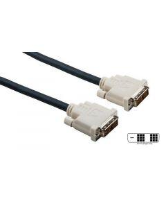 1.5m DVI-D to DVI-D Single Link Cable