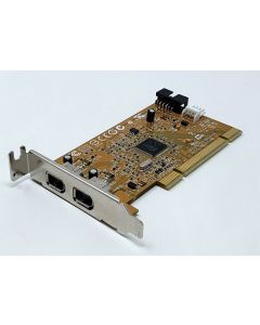 HP 2 IEEE 1394 Dual Firewire Ports Adapter Low Profile PCI Card 515182-001